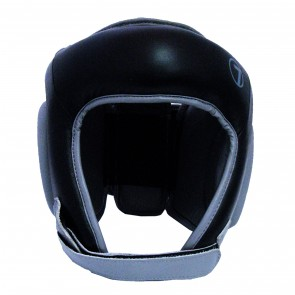 Seven Open Face Head Gear Black