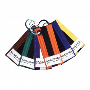 Stripe Belt Key Chain