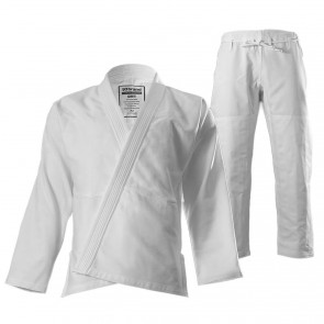 "Women's 93 Brand ""Standard Issue"" BJJ Gi - White"