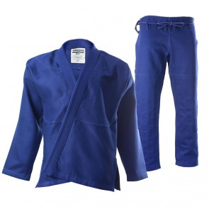 "Women's 93 Brand ""Standard Issue"" BJJ Gi - Blue"